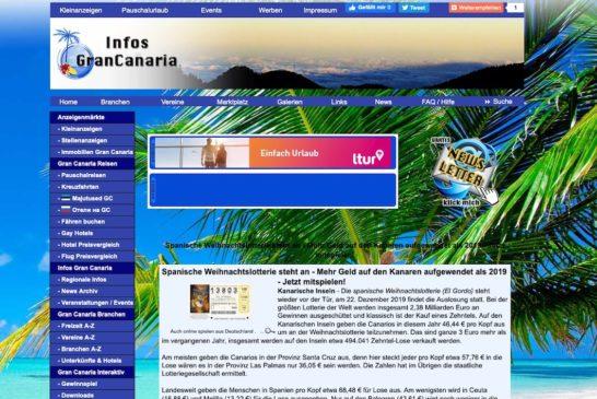 Tschüss altes Infos-GranCanaria.com - Das neue ist an der Reihe!