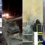 2 Unfälle & 2 Brände hielten Rettungsteams im Süden von Gran Canaria in Atem