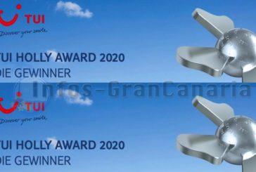 6 Hotels auf Gran Canaria werden für 2020 mit dem TUI Holly Award ausgezeichnet