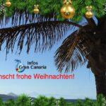 Infos-GranCanaria.com wünscht ALLEN FROHE WEIHNACHTEN 2020!