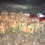 1,5 Tonnen Haschisch am Strand La Caleta (Castillo del Romeral) abgefangen