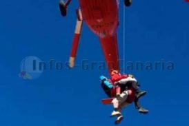 Hubschrauber rettet Wanderer in der Gemeinde Mogán