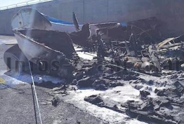Feuer im Hafen von Arguineguin in der Neujahrsnacht, Brandstiftung oder Unfall?