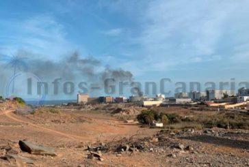 3 Fahrzeuge in Playa del Inglés ausgebrannt