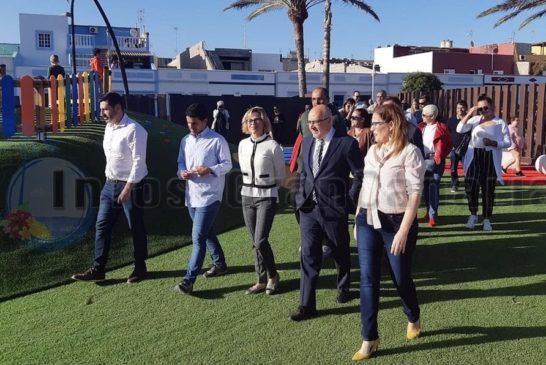 1.3 Millionen € kostete der neue Paseo in Castillo de Romeral - Er ist nun fertig
