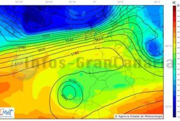 Regen, Sturm und Calima am Wochenende vorhergesagt, ein wilder Mix