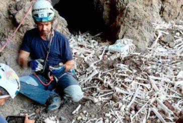 Grab-Höhle der Ureinwohner von Gran Canaria in Guayadeque-Schlucht untersucht