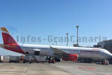 IBERIA fordert auf Inlandsflügen von Canarios das Gesundheitsformular für Ausländer