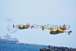 TICKER Waldbrand auf Gran Canaria: Löschflugzeuge eingetroffen - 1.000 Hektar bereits betroffen