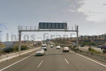 Erfolgreichste Radarfalle der Kanaren 2019: GC-1 in Richtung Las Palmas beim CC Las Terrazas