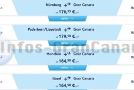 25% sparen bei Flügen nach Gran Canaria & Sonderangebote für Frühbucher!