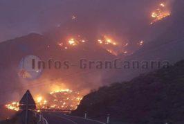 TICKER: Waldbrand auf Gran Canaria in Tasarte (La Aldea de San Nicolas) ausgebrochen! (inkl. Video)