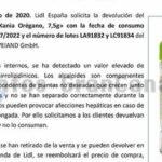 Rückruf von Lidl: Oregano toxisch belastet