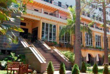 Hotelschule Santa Brigida wird Krankehaus für COVID-19 Patienten