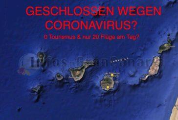 Coronavirus Update Kanaren: 0 Tourismus & nur noch 20 Flüge am Tag? Könnte passieren...