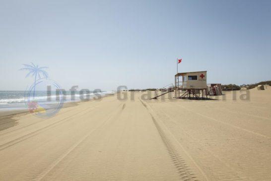 Playa del Ingles Strand Leer 2
