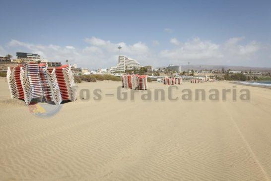 Playa del Ingles Strand Leer