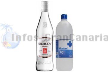 Corona-Krise Update Kanaren: Kein Rum mehr dafür medizinischer Alkohol, neue Anordnungen erlassen