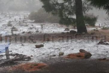 Polarluft: Leichter Schnee auf Gran Canaria sonst Wind & Regen