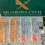 Dank Ausnahmezustand wurde ein Drogendealer in Gáldar festgenommen