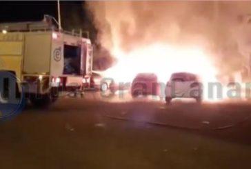 Fahrzeuge in Jinamar ausgebrannt - Brandstiftung? (inkl. Video)