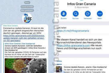 Infos-GranCanaria.com jetzt auch News direkt auf das Handy bekommen!