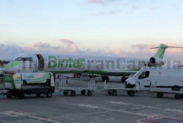 Binter war die zweitwichtigste Fluggesellschaft in Spanien im Januar 2021