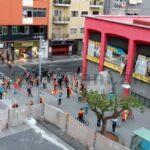 Mini-Proteste gegen spanische Regierung auch in Las Palmas
