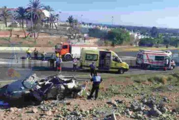 Auto überschlug sich in Playa del Inglés - Frau schwer verletzt