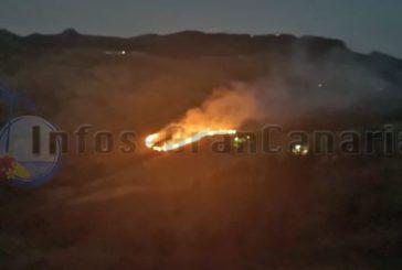 Waldbrände in San Mateo und Arucas sorgen für Angst in der Nacht