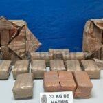 Drogendealer in Las Palmas verhaftet – 33 KG Haschich gesichert