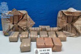 Drogendealer in Las Palmas verhaftet - 33 KG Haschich gesichert