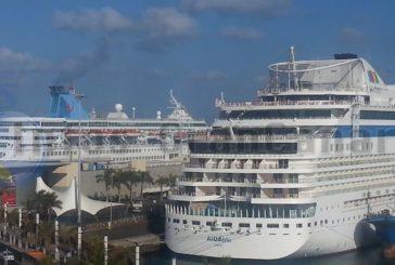 AIDA & Hapag Lloyd nehmen Kreuzfahrten im Dezember auf den Kanaren wieder auf - TUI verstärkt das Angebot