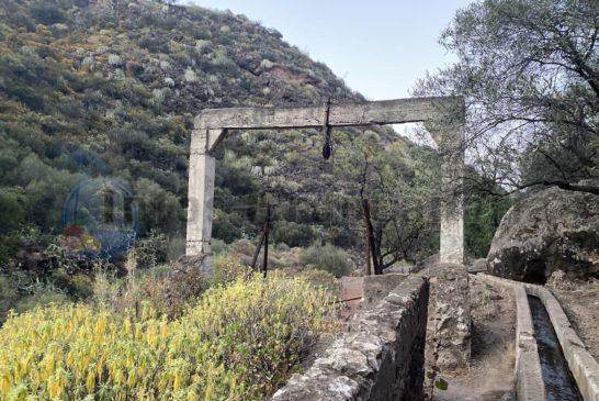 Alter Brunnen auf dem Rueckweg