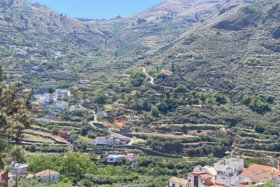 Barranco La Mina - Ausblick Las Lagunetas