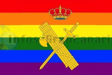 Christliche Anwälte zeigen Guardia Civil wegen Nutzung der Regenbogenflagge an