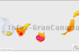 Temperaturen über 34°C und Kalima ab morgen auf den Kanaren
