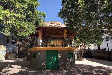 Kiosk im Stadtzentrum von Mogán wird nach 27 Jahren saniert