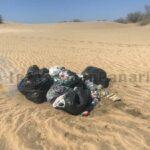 1,5 Tonnen Müll aus den Dünen von Maspalomas entfernt
