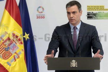 Sánchez kündigt Unterstützungsplan für Hotel-, Restaurant- und Cafeteria-Sektor an
