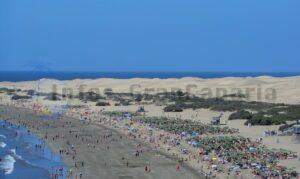 Strand von Maspalomas und Playa del Ingles
