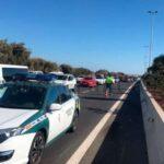 Lieferwagen kollidiert mit Bus auf der GC-1, 2 Personen verletzt