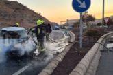 Unfall in Puerto Rico mit 3 Verletzten und brennendem Fahrzeug