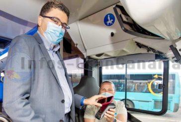Ab heute kann man mit Bankkarte in den Bussen von GLOBAL bezahlen