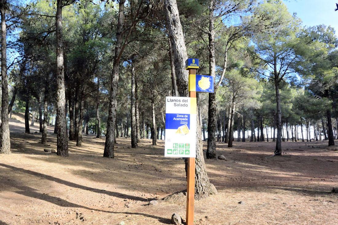 Campingplatz Llanos del Salado