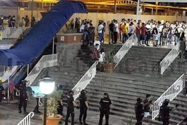 Coronamaßnahmen: Polizei räumte CC Plaza in Playa del Inglés inkl. Video