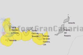 Wetterwarnung der Stufe gelb: Hitze, Wind und Wellen auf den Kanaren!