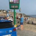 Strand von Meloneras geräumt und gepserrt – Kraftstoff entdeckt