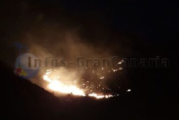 Erneut Waldbrand auf Gran Canaria, diesmal in Mogán