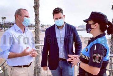 Zivile Polizisten verhängen in 4 Tagen 177 Bußgelder wegen Nichteinhaltung der Coronamaßnahmen